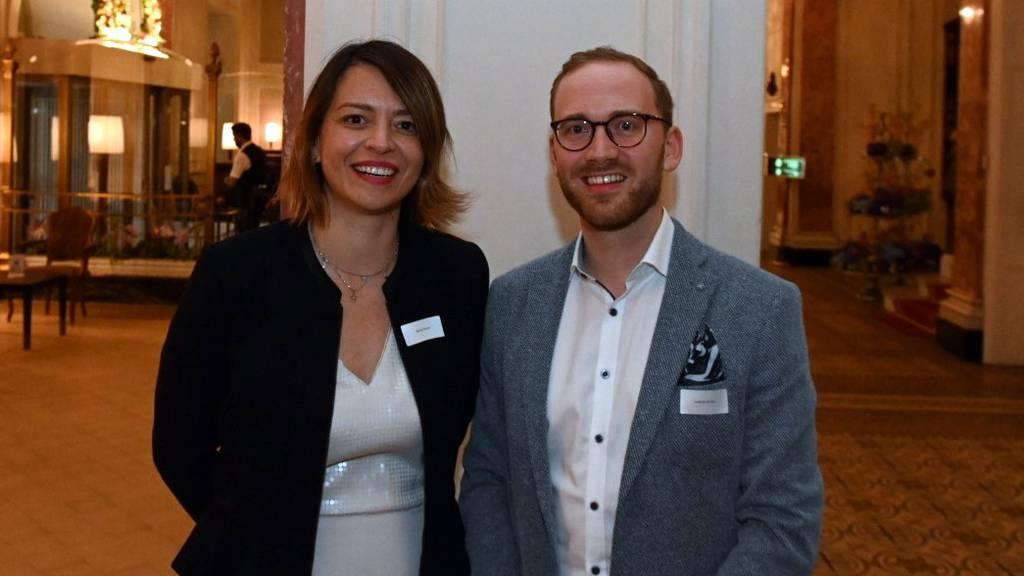 Marija Bucher-Djordjevic und Lukas Zurkirchen führen die FDP Stadt Luzern