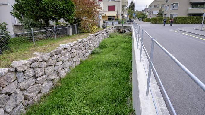Wo ist Stadt, wo Land? Am renaturierten Dorenbach wird deutlich: Die Übergänge sind fliessend und nicht zu sehen.