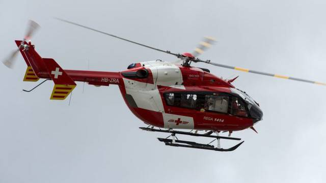 Ein Rega-Helikopter (Archiv)