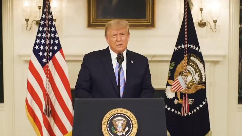 Trump ruft zu Versöhnung auf: «Es war die Ehre meines Lebens»