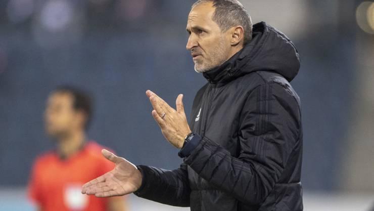 Thomas Häberli könnte seine kurze Tätigkeit als Trainer des FC Luzern fürs Erste krönen