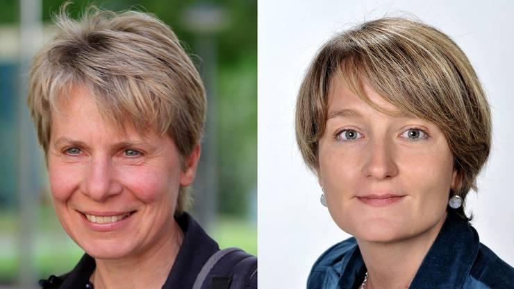 Béatrice Bowald und Vera Feldges