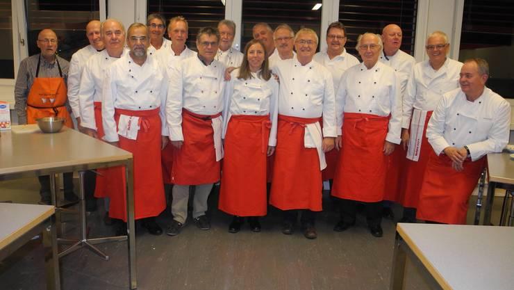 Kochklub Belair 12+1 mit Leiterin Kathrin Gasche
