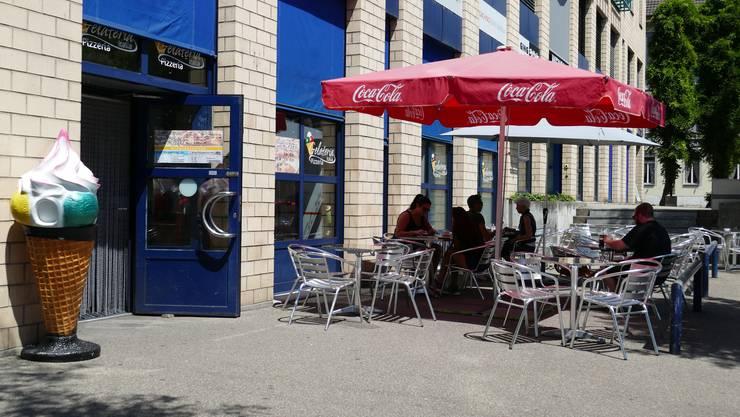 Die Gelateria Pizzeria Italia an der Lagerhausstrasse 1 in Solothurn