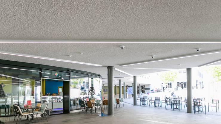 Die Stadt überwachte die Cordulapassage in Baden unterhalb des neuen Schulhausplatzes monatelang mit 40 Videokameras - ohne Bewilligung.