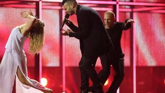 """Grösster ungarischer ESC-Erfolg der vergangenen zehn Jahre war 2014 Platz fünf mit dem Lied """"Running"""", das Andras Kallay-Saunders darbot. Nun hat Ungarn seine Teilnahme am Eurovision Song Contest abgesagt. (Archivbild)"""