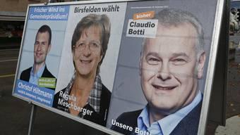Am Schluss lächelt die FDP: Wie in Birsfelden 2013 mit Christof Hiltmann eroberten die Freisinningen in den letzten Jahren zahlreiche Gemeindepräsidien im Baselbiet.
