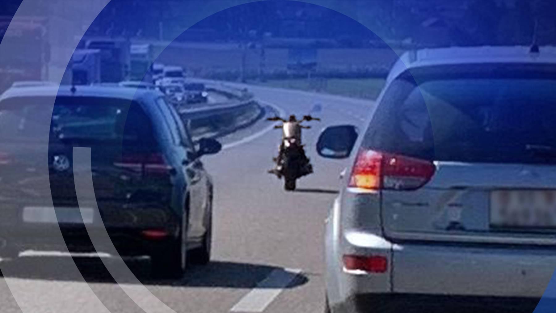 Motorrad ohne Fahrer
