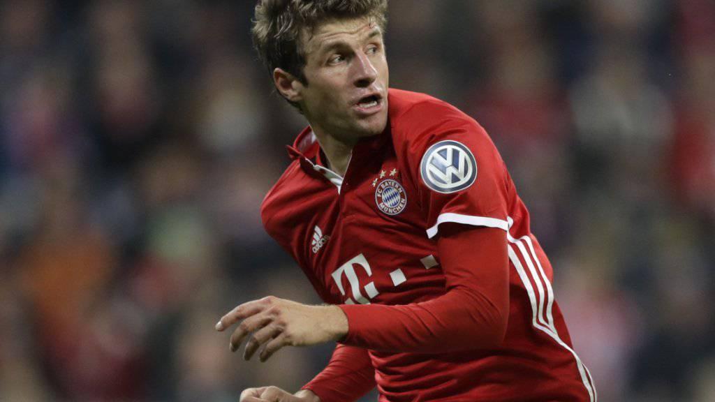 Es läuft nicht: Thomas Müller ist bei Bayern auf der Suche nach dem erlösenden Erfolgserlebnis