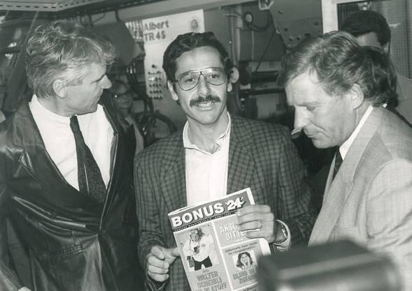 Roger Schawinski, 1988