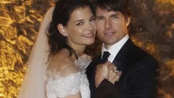 Katie Holmes und Tom Cruise heirateten am 18. November 2006 (Archiv)