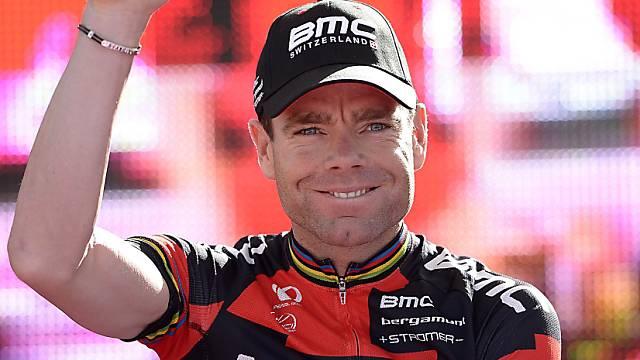 Cadel Evans holt sich den Gesamtsieg bei der Trentino-Rundfahrt
