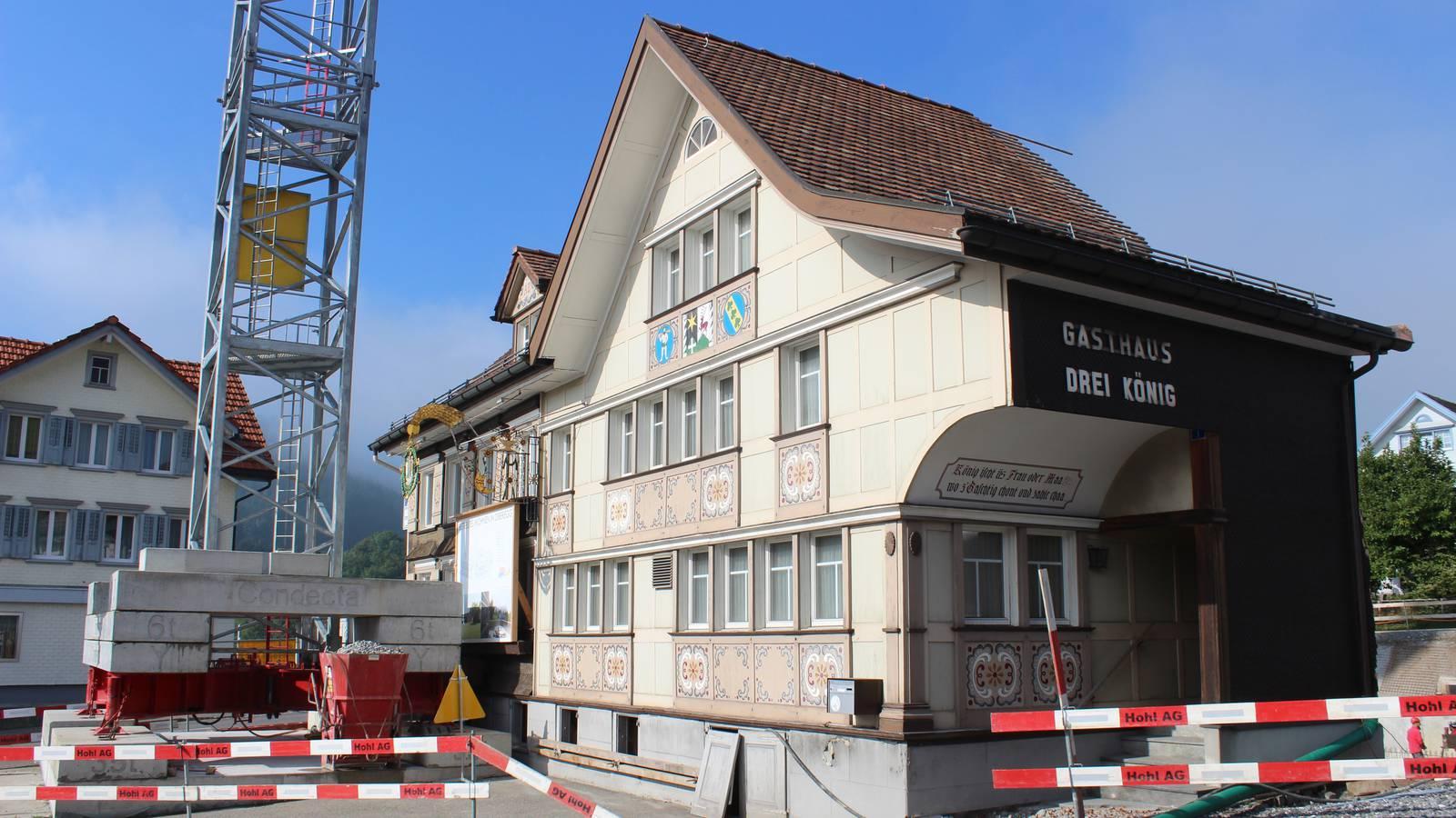 Das Gasthaus Drei König in Oberegg. (© FM1Today)