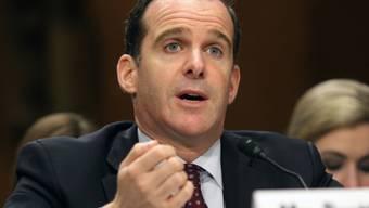 McGurk erklärte, die USA wollten nach der Rückeroberung Falludschas die grössten IS-Hochburgen ins Visier nehmen.