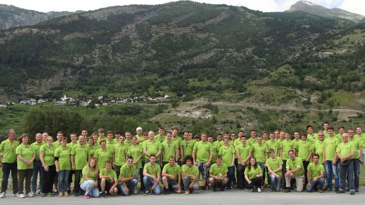 Alle Teilnehmer des SOSV.