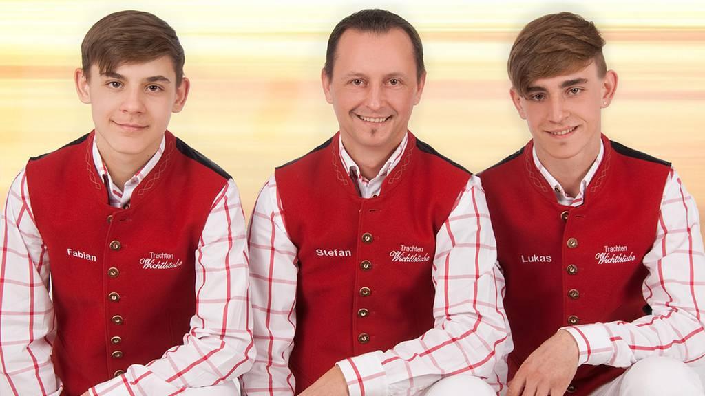 Stefan Lucca & Lukas mit Fabian - Sonnenschein im Herz