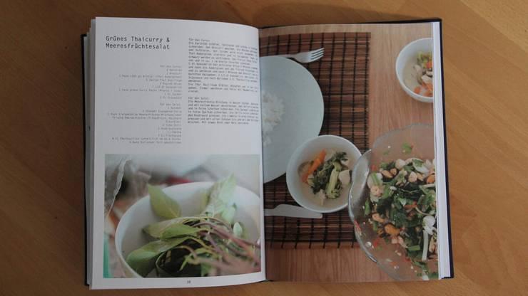 Die ästhetische Fotografie im Kochbuch weiss zu überzeugen.