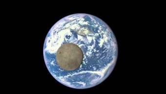 Die einzigartigen Zeitrafferaufnahmen von der dunklen Seite des Mondes.