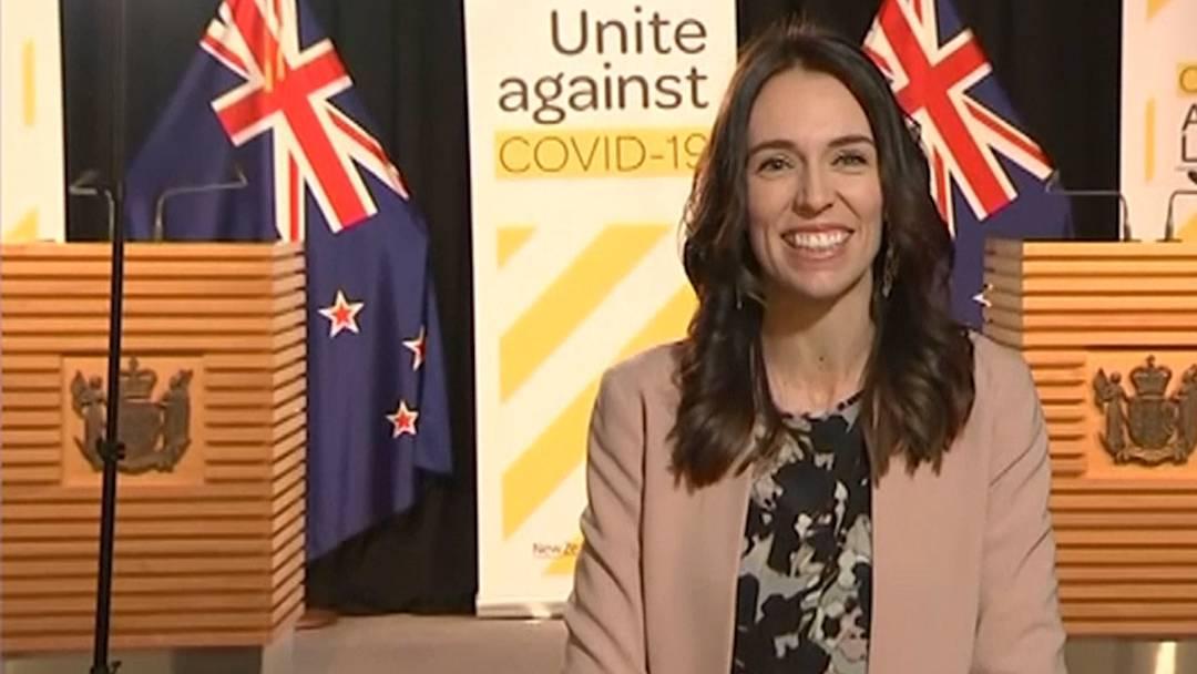 Neuseelands Premierministerin bleibt auch bei Erdbeben cool
