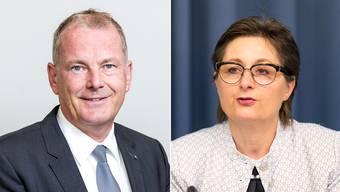 Regierungsrat Stephan Attiger übernimmt als offizieller Stellvertreter per sofort die Departementsführung von Franziska Roth.