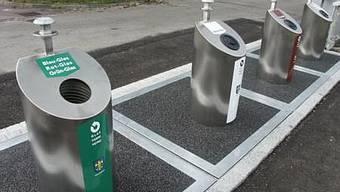 Die Stadt Schlieren bietet laut Swiss Recycling ein gutes Angebot an Sammelstellen (jk)