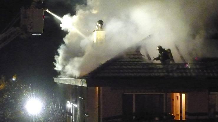 Schuld war nur der Fernseher : Wohnungsbrand in Wetzikon. (Symbolbild)