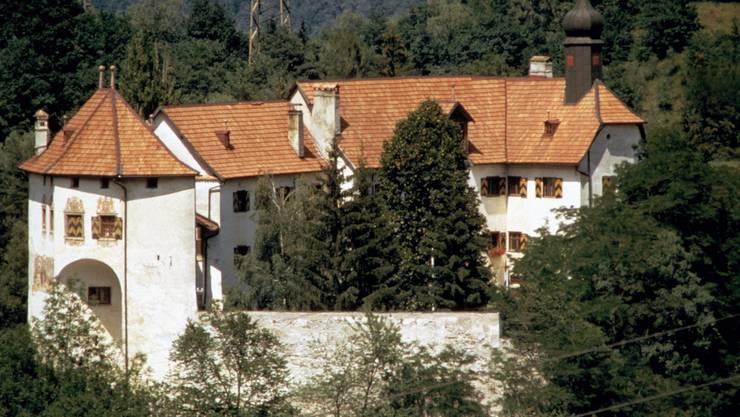 Das Schloss mit der vielleicht atemberaubendsten Aussicht Graubündens.