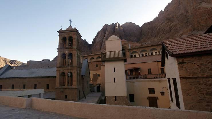 Das Katharinenkloster auf der Sinai-Halbinsel, in welchem sich eine der ältesten Bibliotheken der Welt befindet.