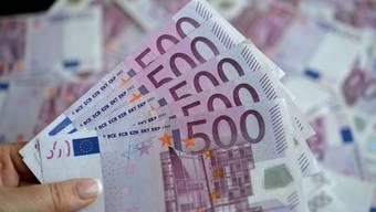 Der 500-Euro-Schein, die grösste Banknote in der Euro-Zone, wird abgeschafft. (Archivbild)