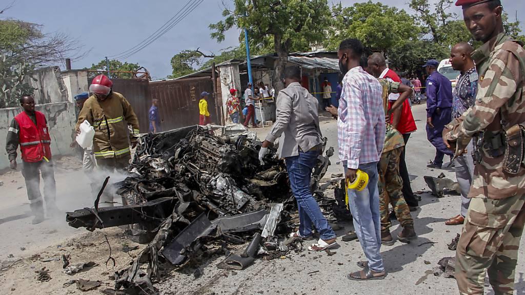 Tote und Verletzte bei zwei Terroranschlägen in Mogadischu