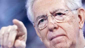 Immer aktiver im italienischen Wahlkampf: Mario Monti