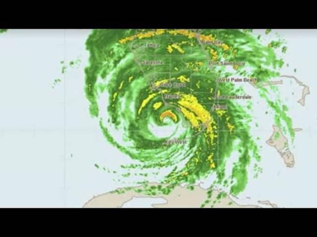 """Hurrikan """"Irma"""" im Live-Radar"""
