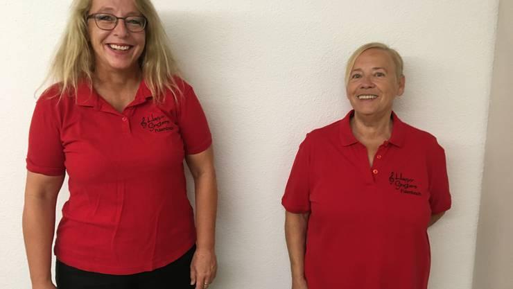 Neu im Vorstand:  Esther Zazzi (links) und Claudine Heiniger.