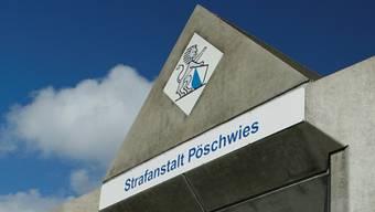 347 Zellen umfasst die Justizvollzugsanstalt Pöschwies. Az Archiv