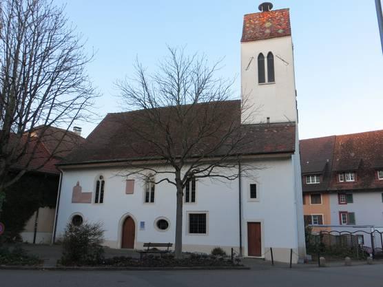 Das Wahrzeichen von Frenkendorf - die evangelische Kirche -