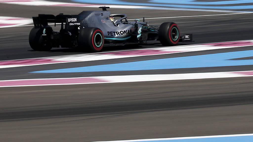 Der Circuit Paul Ricard mit seinen sehr breiten Auslaufzonen