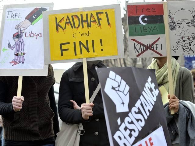 Libyen-Demo in Zürich