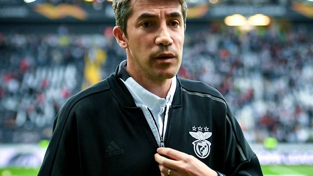 Sieht sich nicht mehr im Stande, Benfica Lissabon zurück auf die Erfolgsspur zu führen: Bruno Lage