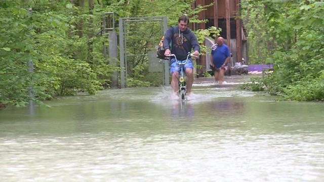 Hochwasser-Gefahr