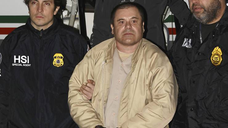 """Die US-Staatsanwaltschaft warnt in einem Brief vor Hafterleichterungen für den Drogenboss """"El Chapo"""", weil Fluchtgefahr besteht. (Archivbild)"""