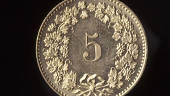 Liegt dem Bundesrat am Herzen: Fünfrappenstück (Archiv)