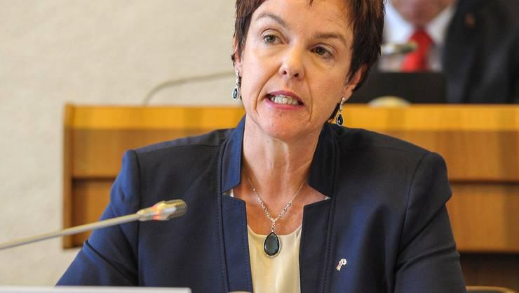 Am 8.Juli präsentierte Monica Gschwind die Sparmassnahmen, die ihre Direktion noch ohne sie ausgearbeitet hatte.