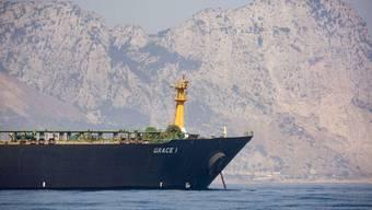 """Der iranische Tanker """"Grace 1"""" wurde vor Gibraltar der britischen Royal Navy festgesetzt. (Archivbild)"""