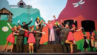 Operette Grüezi der Bühne Burgäschi