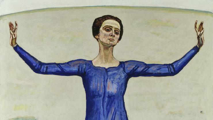 In Christoph Blochers Sammlung: Ferdinand Hodler, «Lied aus der Ferne», 1914, 180×129 cm.