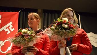 Obersiggenthal feiert ihre Olympia-Heldinnen Julia und Stefanie Marty