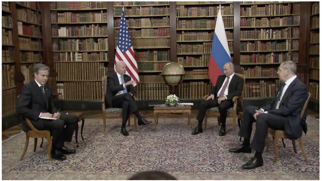 Jetzt live: US-Präsident Biden und Wladimir Putin am Gipfeltreffen in Genf