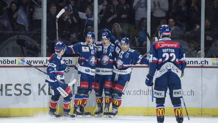 Impressionen aus dem Spiel SC Bern - ZSC Lions