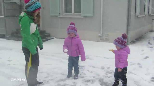 Freude über ersten Wintergruss