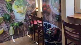 Die Trennwände in der «Cafébar Barock» bleiben bestehen.